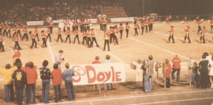 doyle-band-onfield-1978 jpg